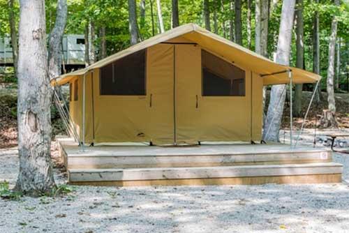 Cozy- Camp Rental Tent